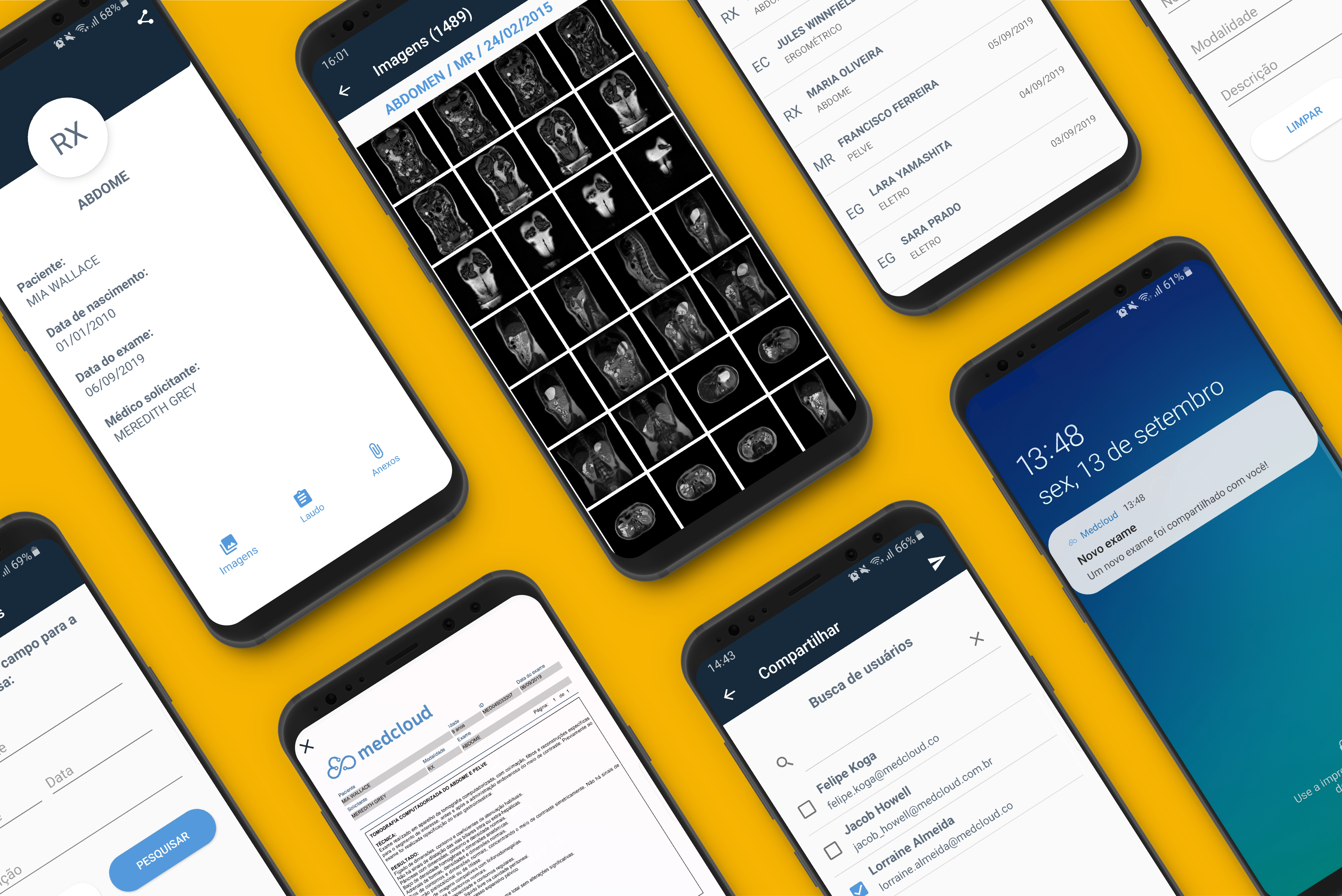 Novo app Medcloud